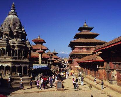Návštěva kulturních památek v Indii a Nepálu