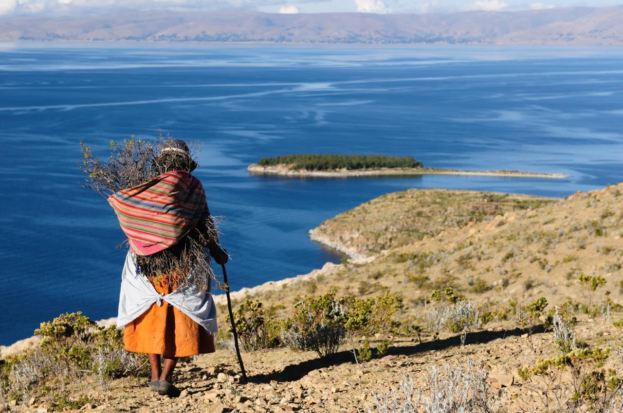 Incké památky a jezero Titicaca
