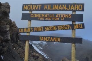 Výstup na Kilimanjaro, cesta Machame