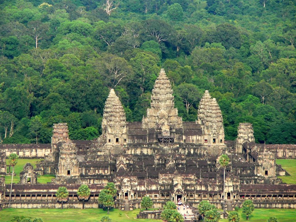 Tajemné chrámy Angkoru v Kambodži a Bangkoku v Thajsku