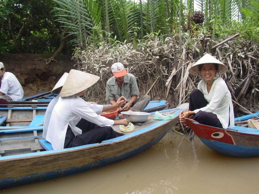 Delta Mekongu a návštěva přírodní rezervace