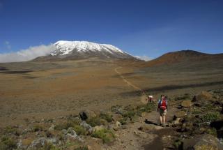 Výstup na Kilimanjaro, trasa Marangu