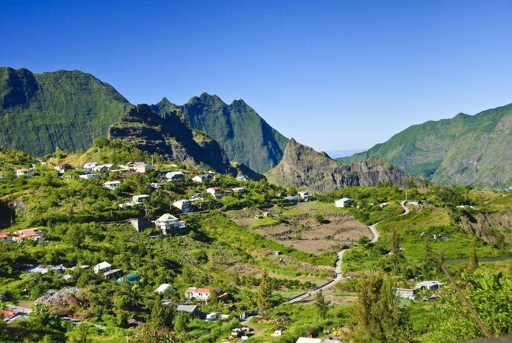 Trek kolem kráterů ostrova Réunion