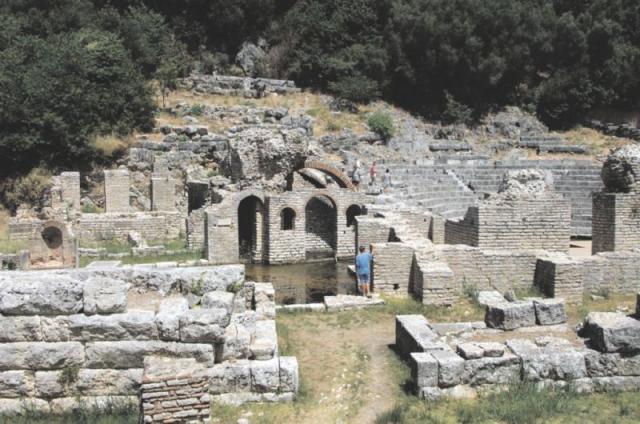 Albánie - okruh
