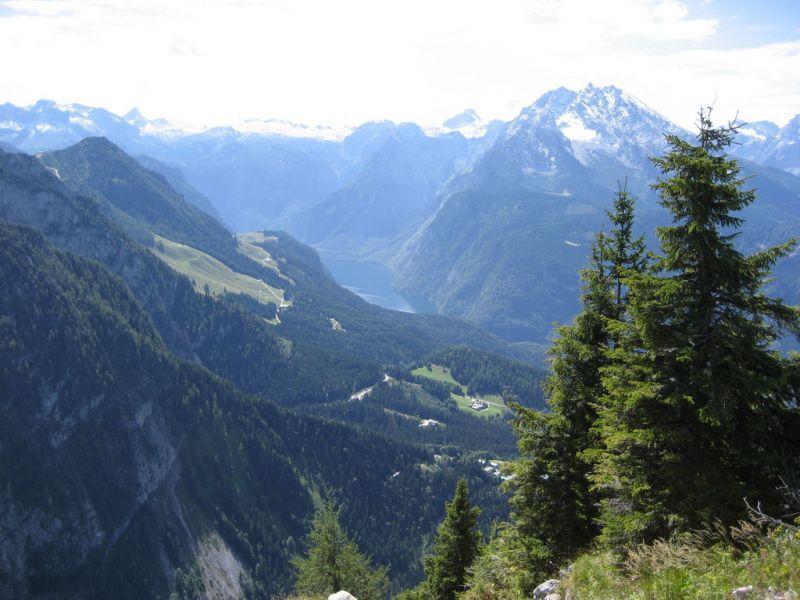 Salzburg a Berchtesgaden