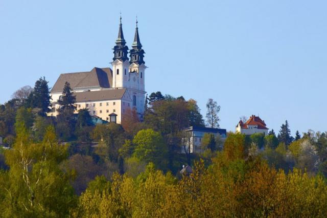Romantické údolí Dunaje
