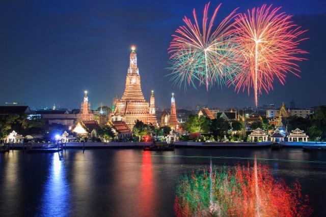 Thajsko 55+ Silvestr 2016 v Thajsku