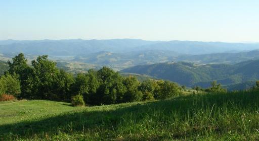 Cernei, Mehedinți a Banátské hory