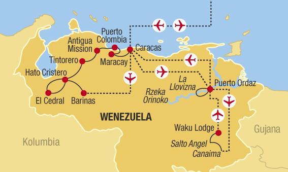 Venezuela - Na divokém západě