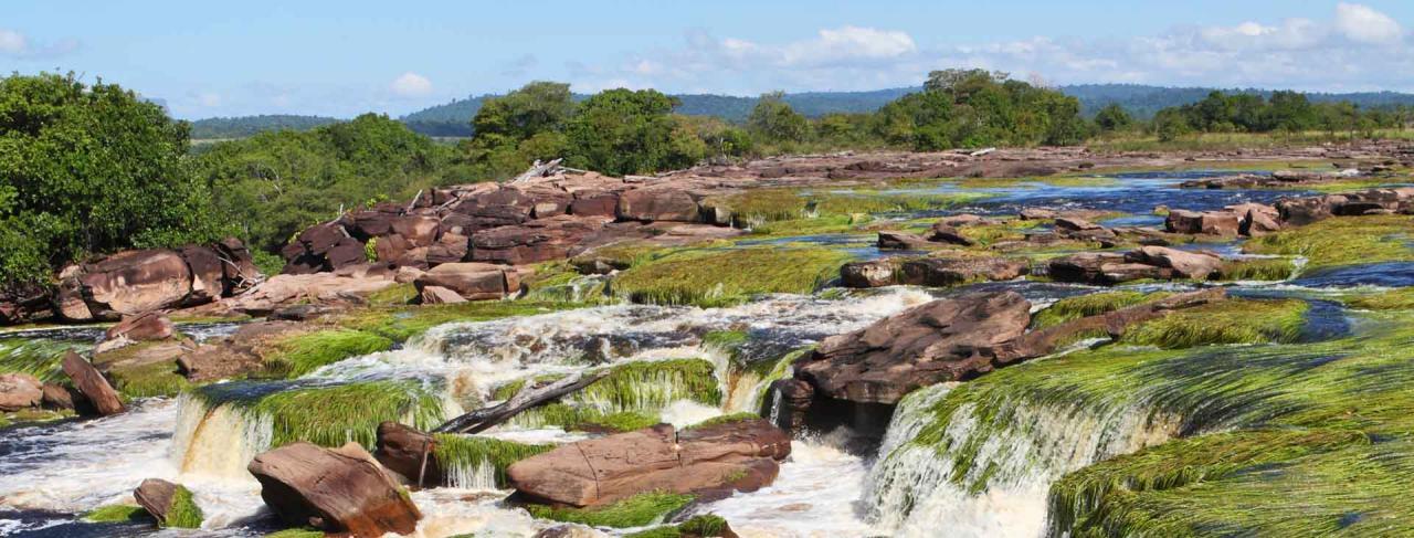 Venezuela - Indiáni, džungle, vodopády