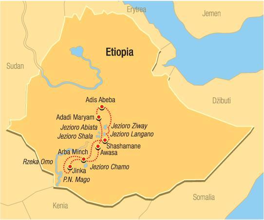 Etiopie - kmeny Jihu