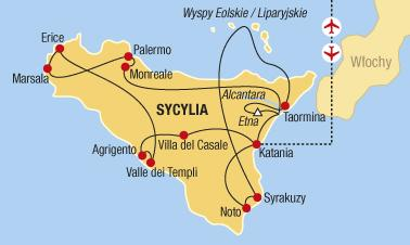 Sicílie - Pozoruhodný Ostrov