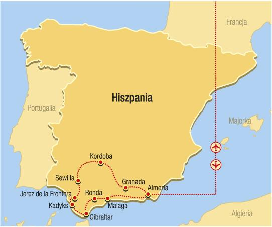Andalusie - tu musíte vidět!