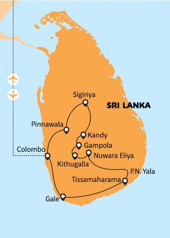 Srí Lanka - chuť čaje se skořicí