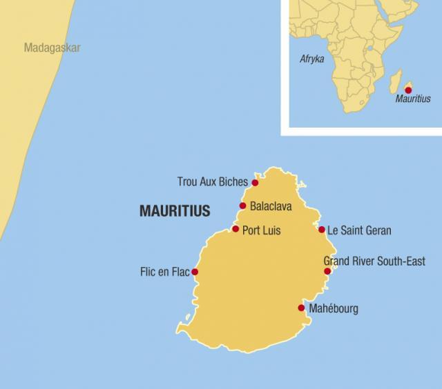 Mauricius - rajská dovolená