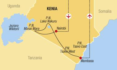 Keňa - Co to píská v buši?
