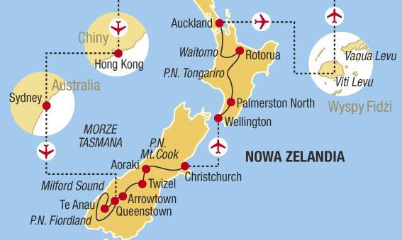 Austrálie a Nový Zéland - Pohlednice z konce světa
