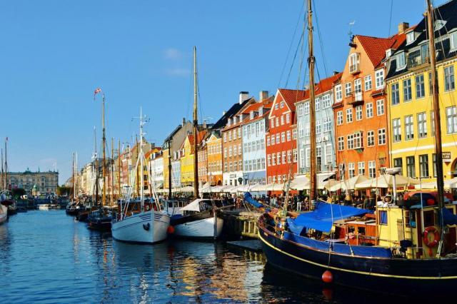 Malebná Kodaň