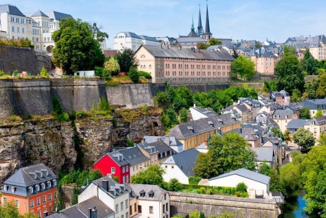 Krásy lucemburského velkovévodství a Belgie