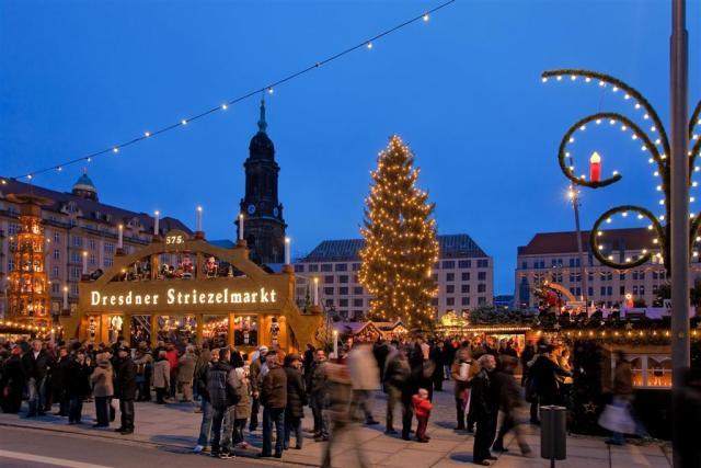 Drážďany – vánoční trhy a nákupy v Primarku