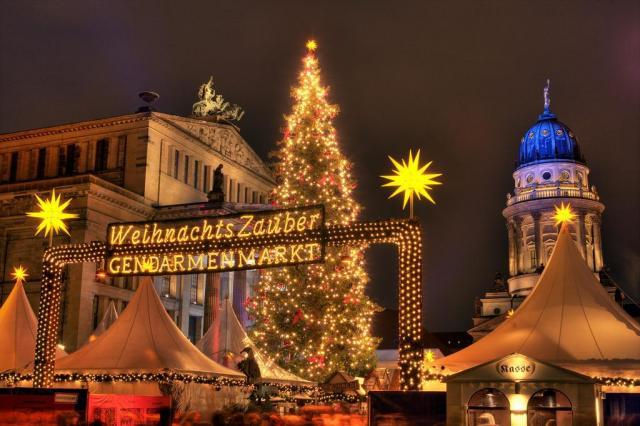 Vánoční trhy a památky v Berlíně