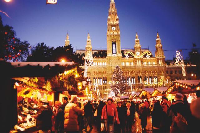 Adventní Vídeň a čokoládovna Hauswirth