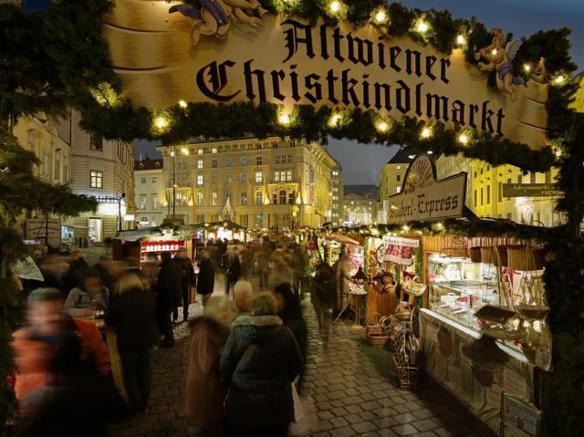 Vídeň – vánoční trhy