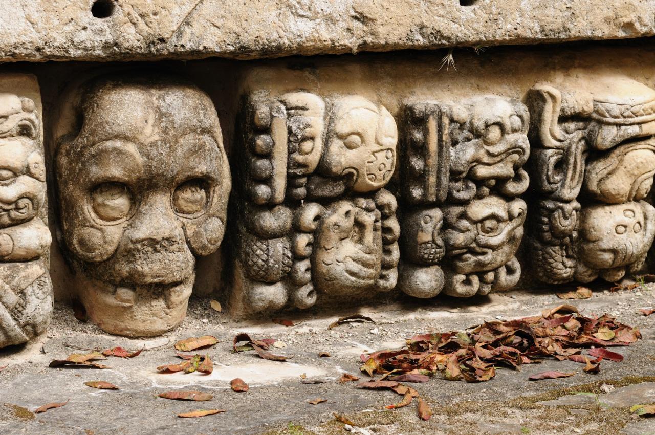 Říší Mayů (Guatemala, El Salvador, Honduras, Belize, Mexiko) (Komfort)
