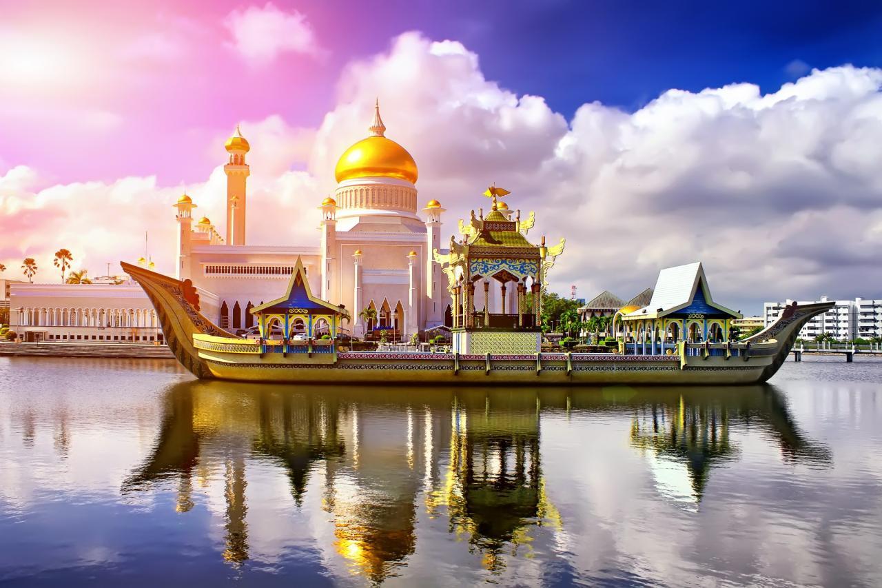 Malajsie, Brunej, Borneo, Filipíny