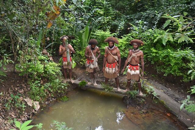 Papua Nová Guinea, Nové Irsko, Šalamounovy ostrovy a Nauru