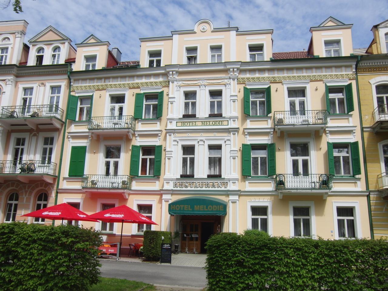 Františkovy lázně - Hotel Melodie, Seniorské pobyty po celý rok