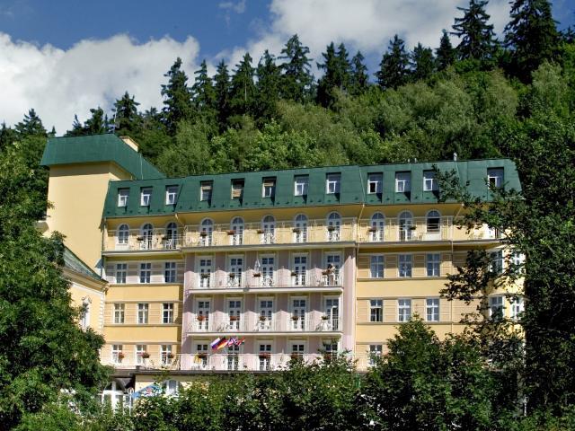 Mariánské lázně - Hotel Vltava, Lázně na zkoušku, 3 noci, bazén zdarma