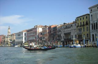 Benátky město na laguně