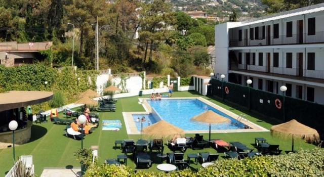 kombinace hotelu Hawai / hotel Montevista