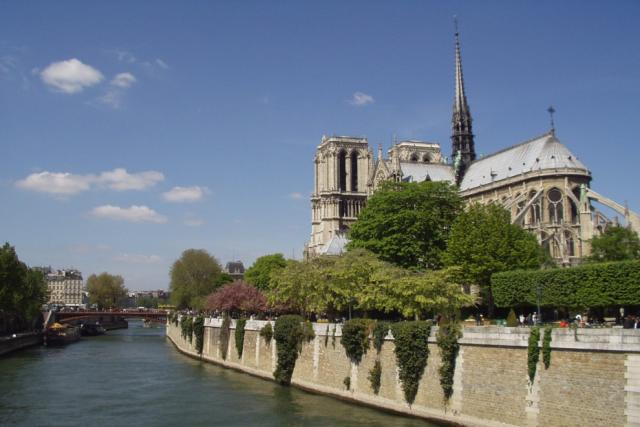 Paříž krátké zastavení