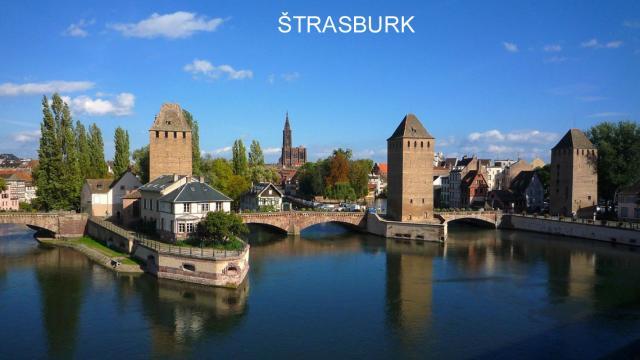 Paříž a Štrasburk