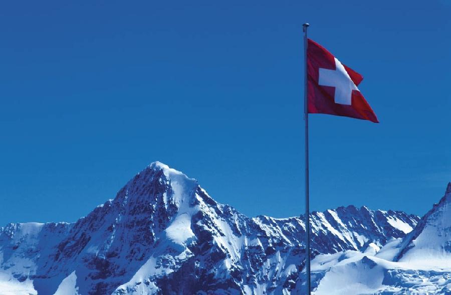 Města, hory a jezera Švýcarska