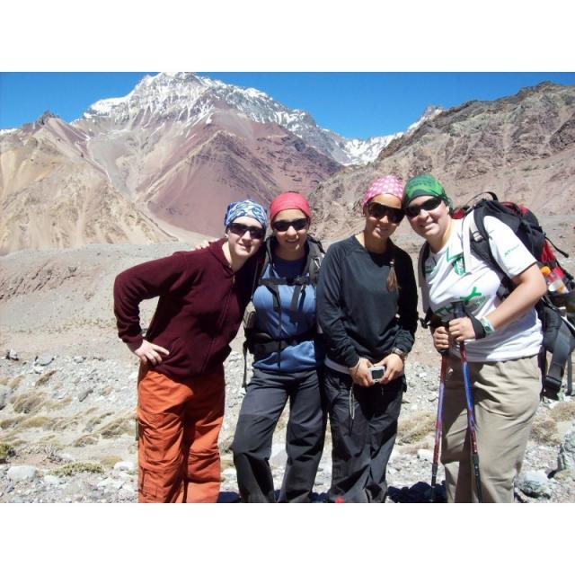 Aconcagua - Výstup na vrchol Ameriky