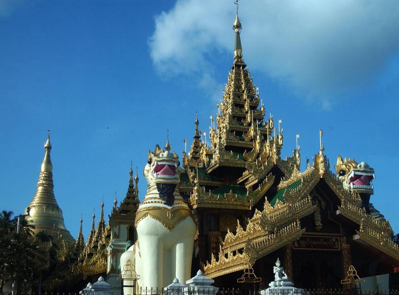 Barma - poznávací zájezd Barma (Myanmar)