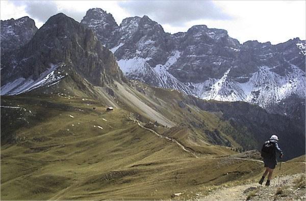Itálie, Dolomity - vysokohorská trasa č.2 (expedice, trek)