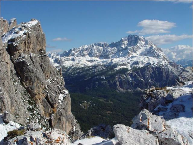 Itálie, Dolomity - vysokohorská trasa č.3 (expedice, trek)