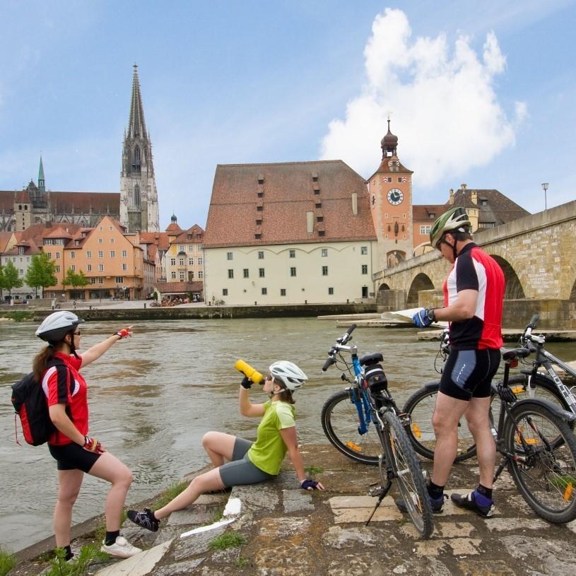 Německo, Cesta na pěti řekách - cyklistický zájezd