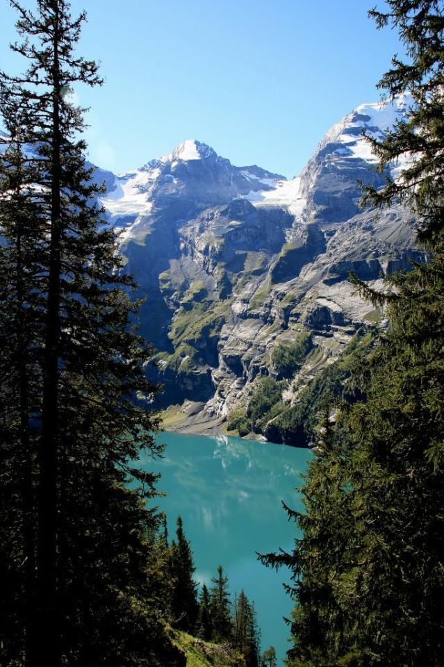 Švýcarsko, Bernské Alpy: zájezd expedice, trek