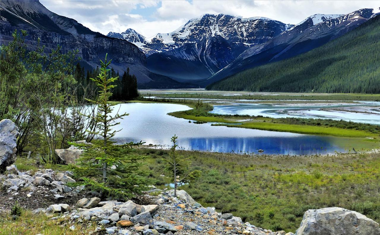 Velký okruh národními parky Kanady