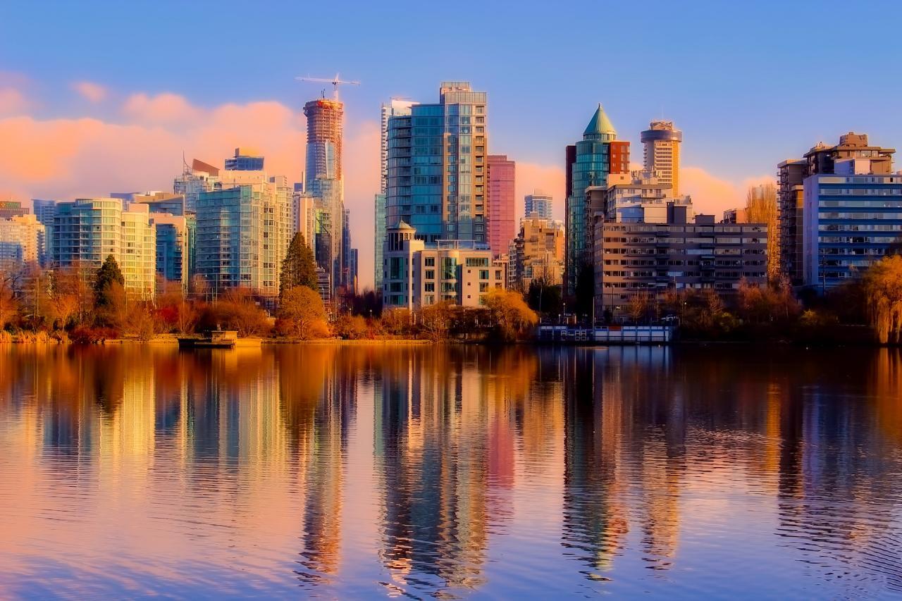 Podzimní Vancouver Island
