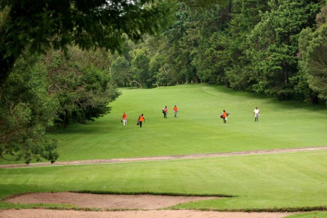 Na golf s negolfistou