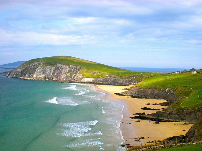 Irsko - hory zeleného ostrova a keltská historie - turistika