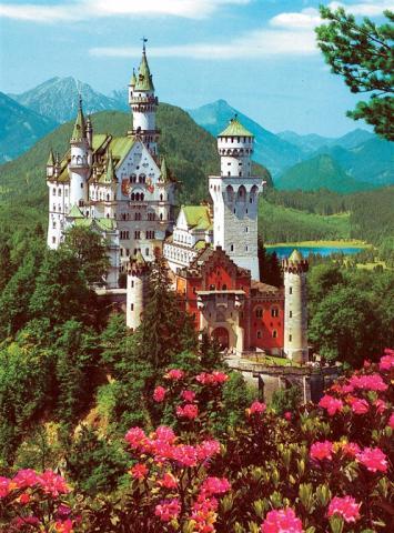Legoland a zámek Neuschwanstein