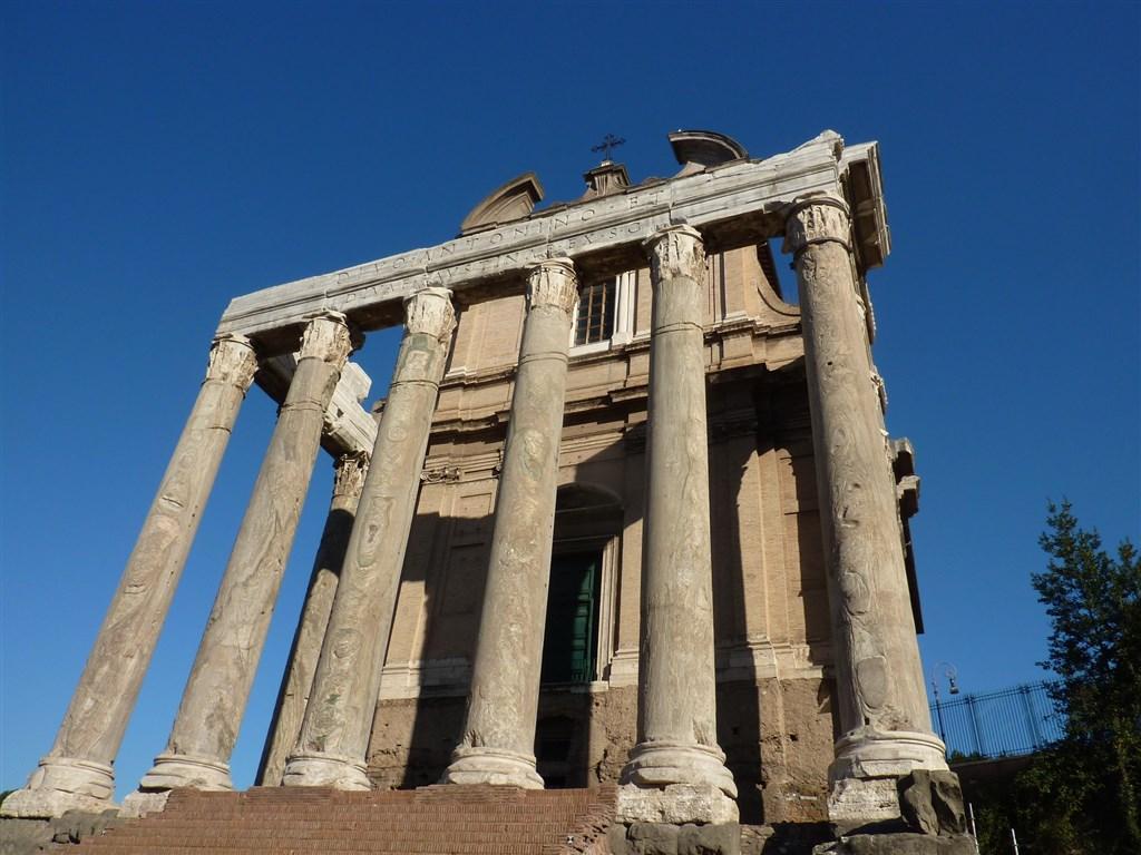 Řím, Vatikán, zahrady Tivoli, UNESCO