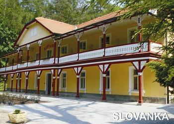 Víkend senior - Lázeňský dům Slovanka